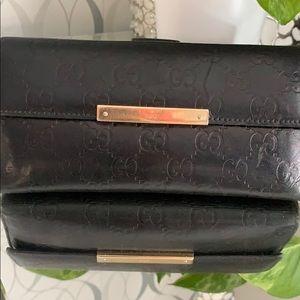 Gucci Bags - Gucci GG Guccissima Black Leather Wallet